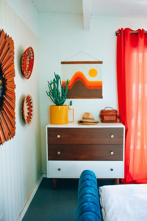 burnt orange interior design trend