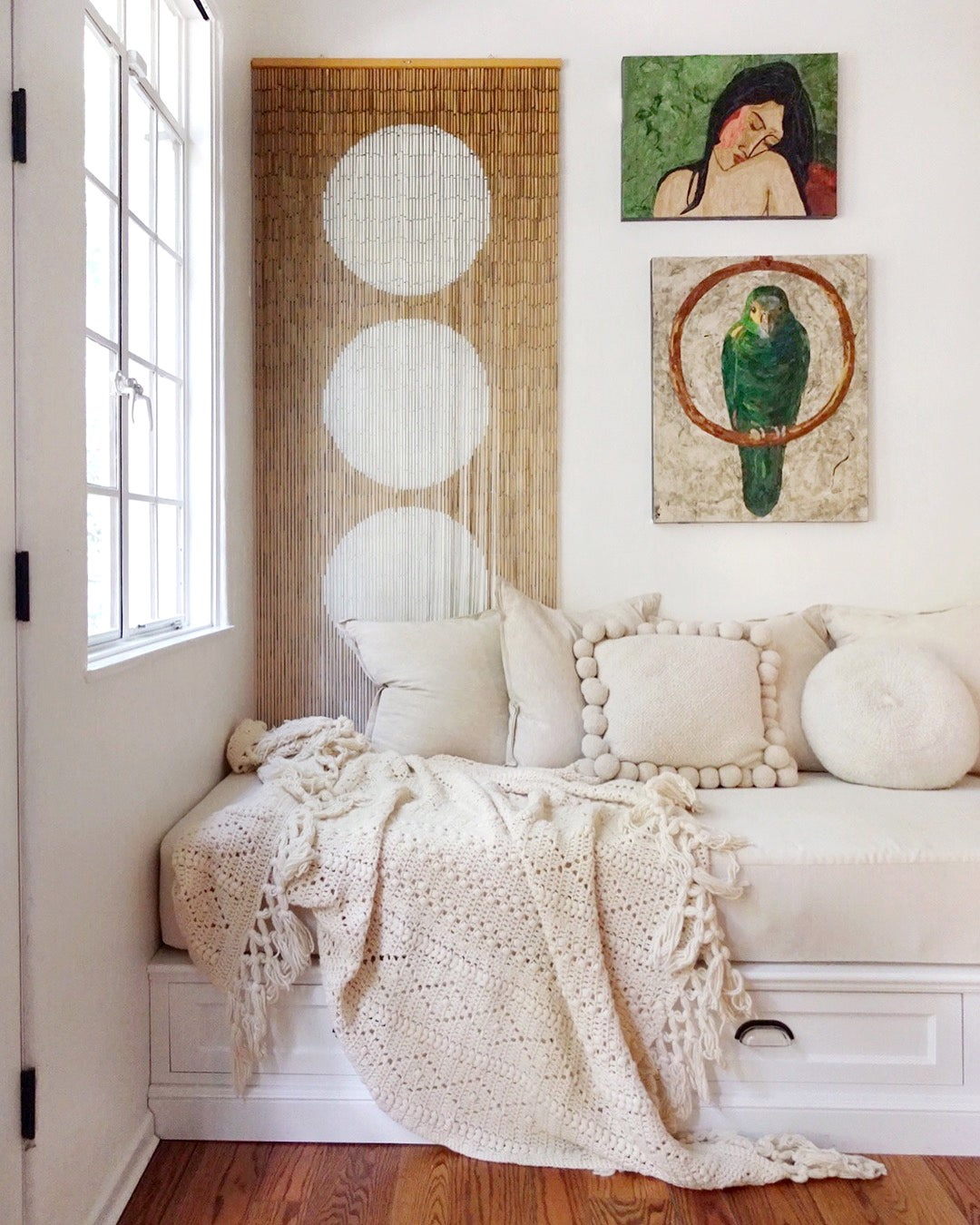 Why You Should Actually Put Your Rug on Your Bed