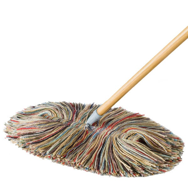 All Wool Dry Mop With Replacement Head