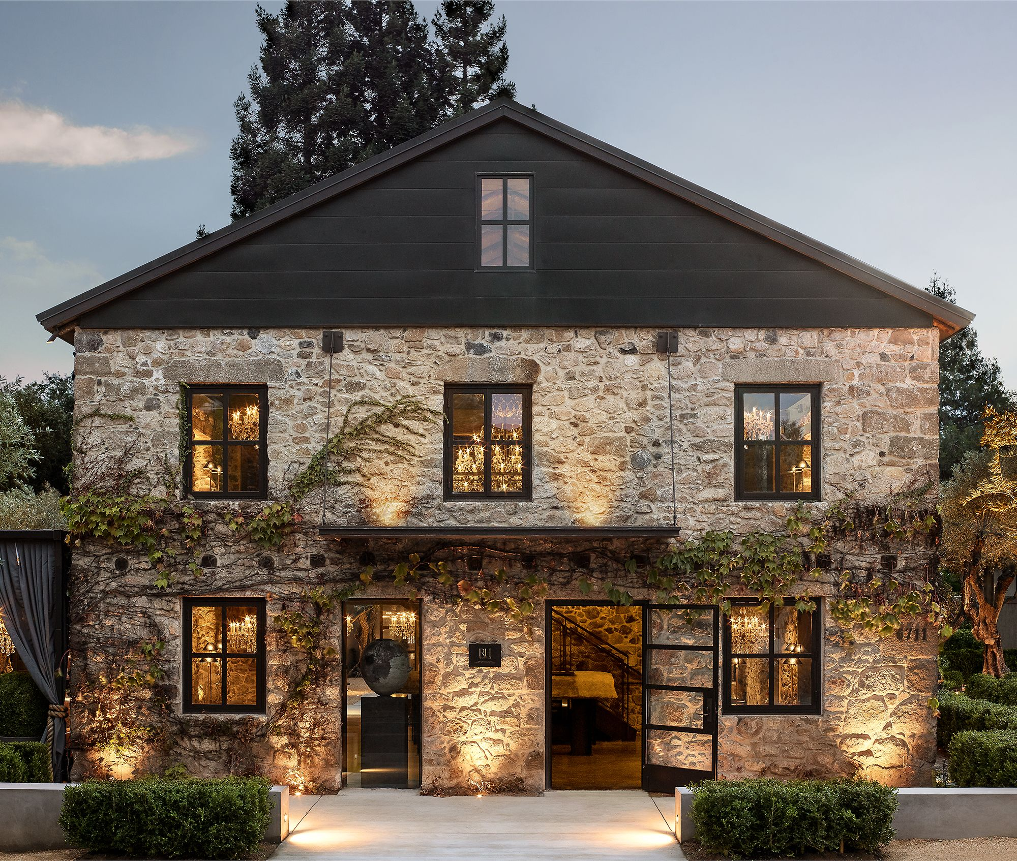 Restoration Hardware's Napa Valley Compound Is Its Most Luxe ... on philadelphia house plans, tuscan house plans, naples house plans, huntington beach house plans, st. helena house plans, bordeaux house plans, miami house plans, texas hill country house plans, hawaii house plans, wine country house plans, lafayette house plans, california house plans, scottsdale house plans, nantucket house plans, newport house plans, australian house plans, manhattan beach house plans, france house plans, orlando house plans, central coast house plans,