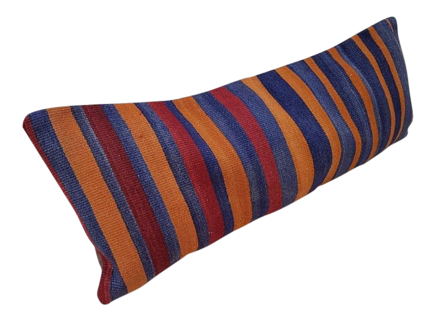 orange-and-blue-wool-kilim-pillow-cover-8000
