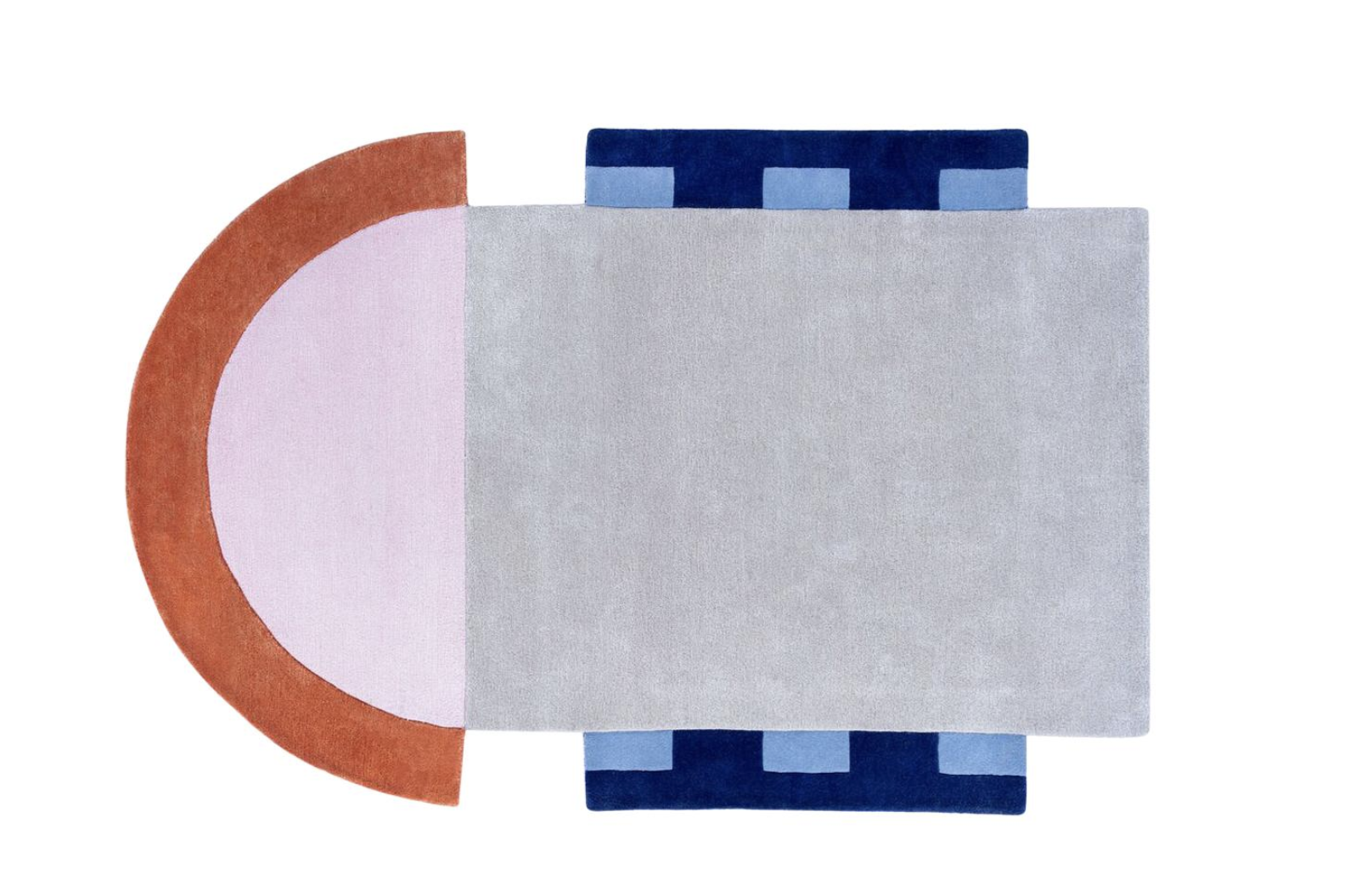 Court Series Abstract Key Rug by Pieces