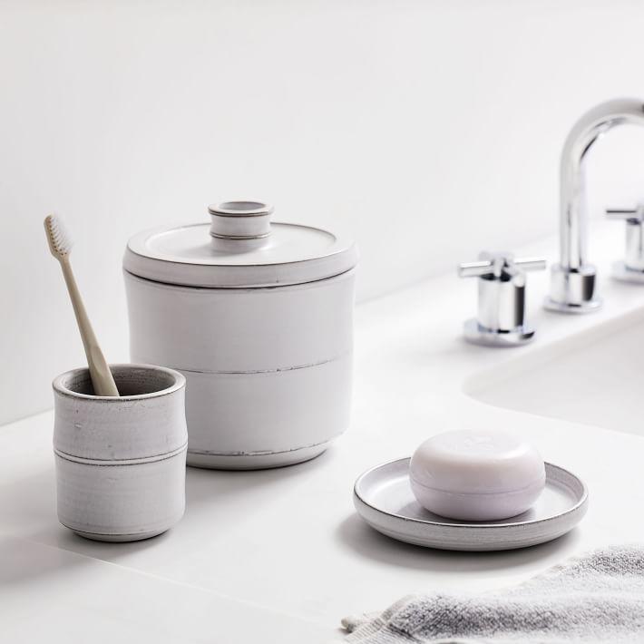 Naturalist Ceramic Bath Accessories