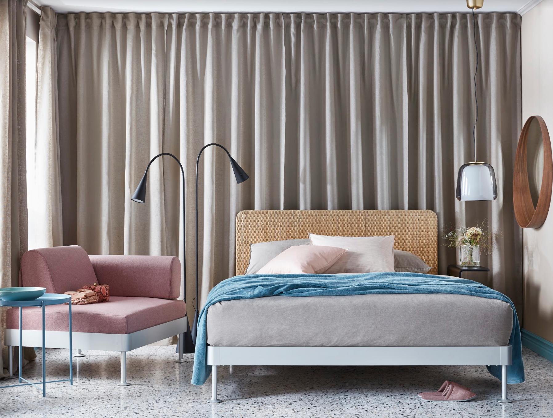 Ikea X Tom Dixons New Delaktig Bed Frame And Headboards For 2019