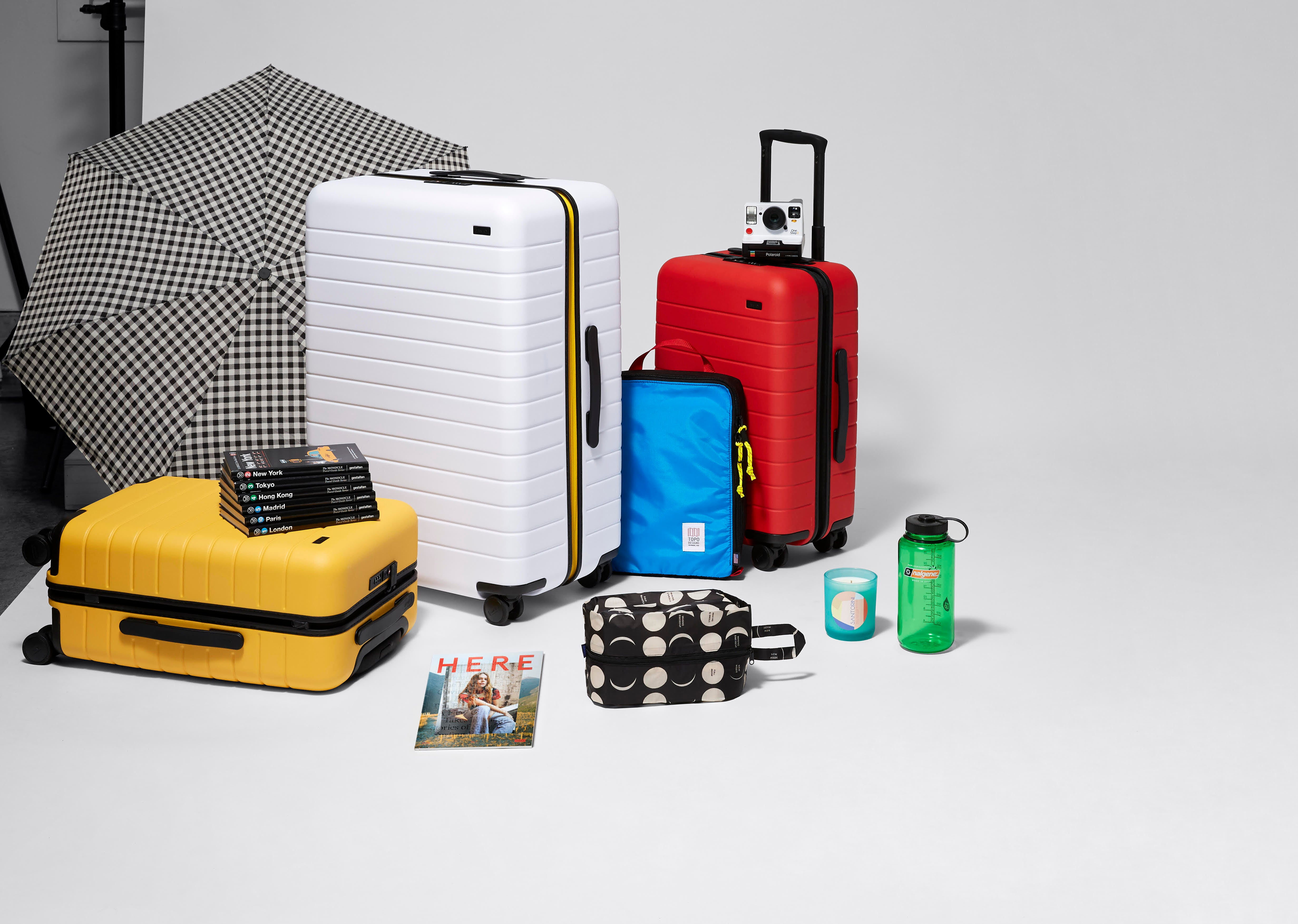 facc619912 Away's Nordstrom Pop-Up Makes Traveling More Colorful