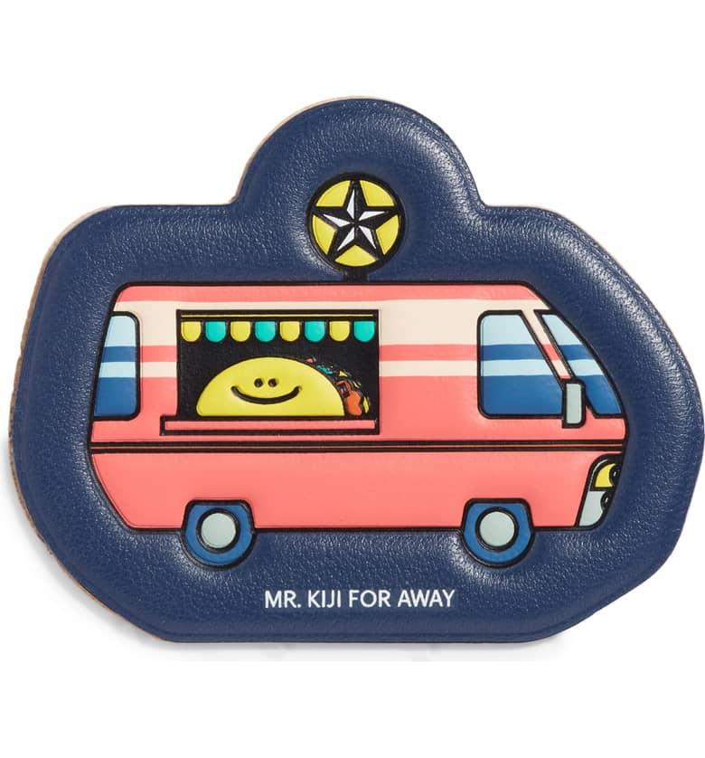 x Mr. Kiji Around the World Austin Taco Truck Leather Luggage Sticker