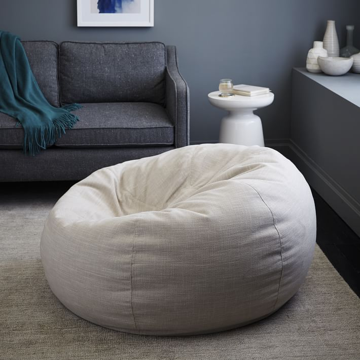 The Bean Bag Chair Trend Is Upgrading Your Childhood Favorite
