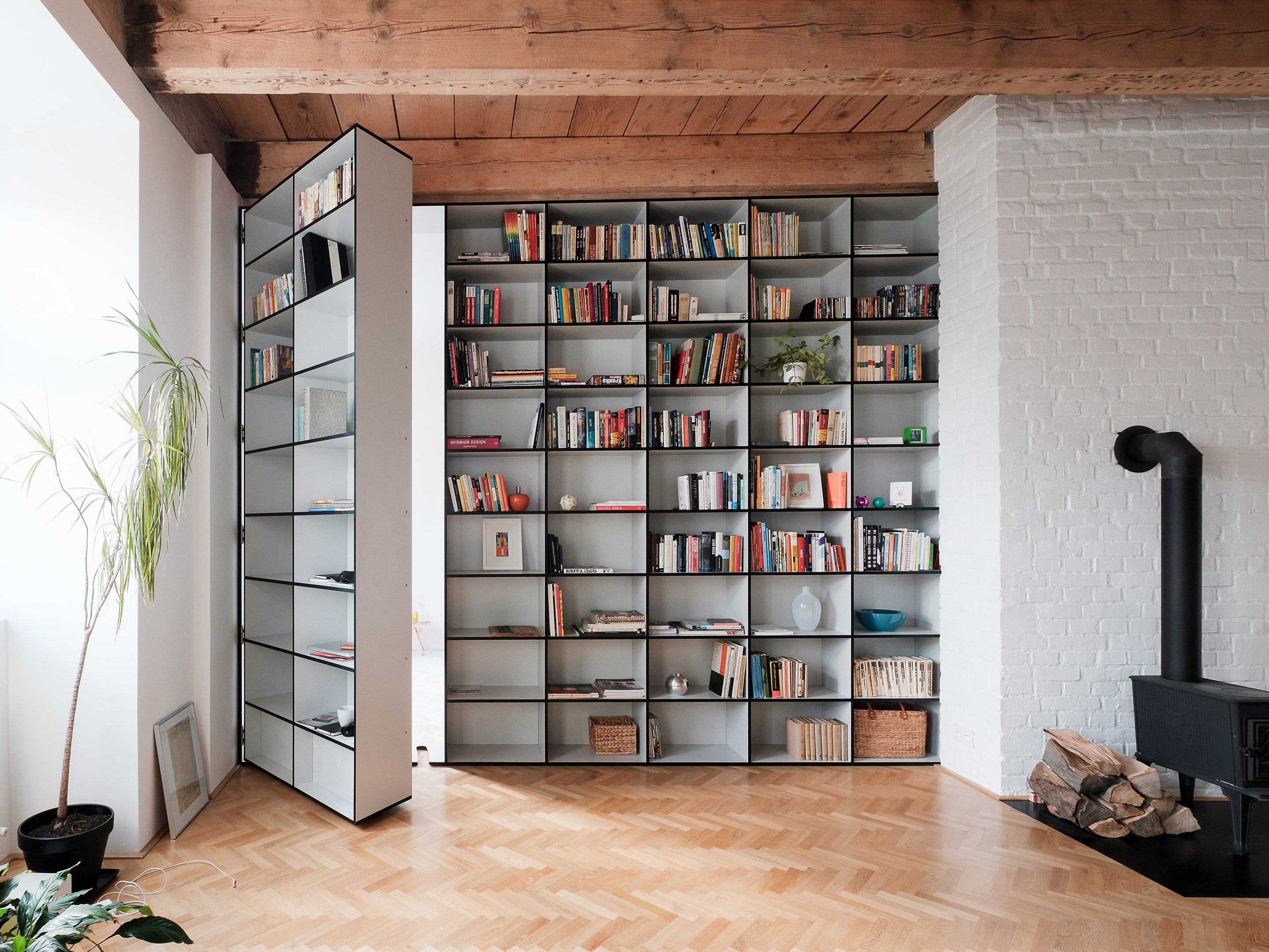 6 Amazing Bookcases with Doors That Belong on Your ...