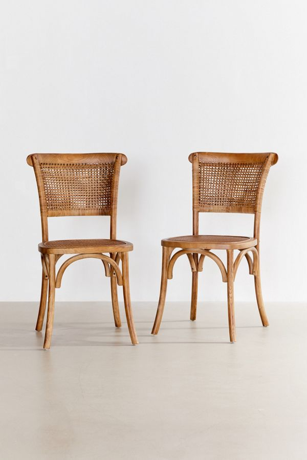 Chelsi Rattan Chair – Set Of 2