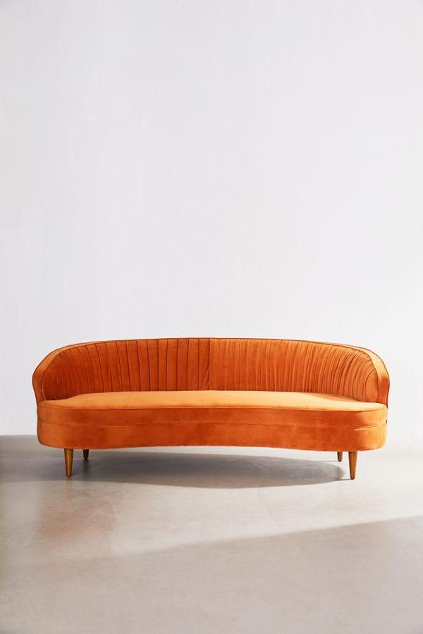 Ellie Velvet Sofa
