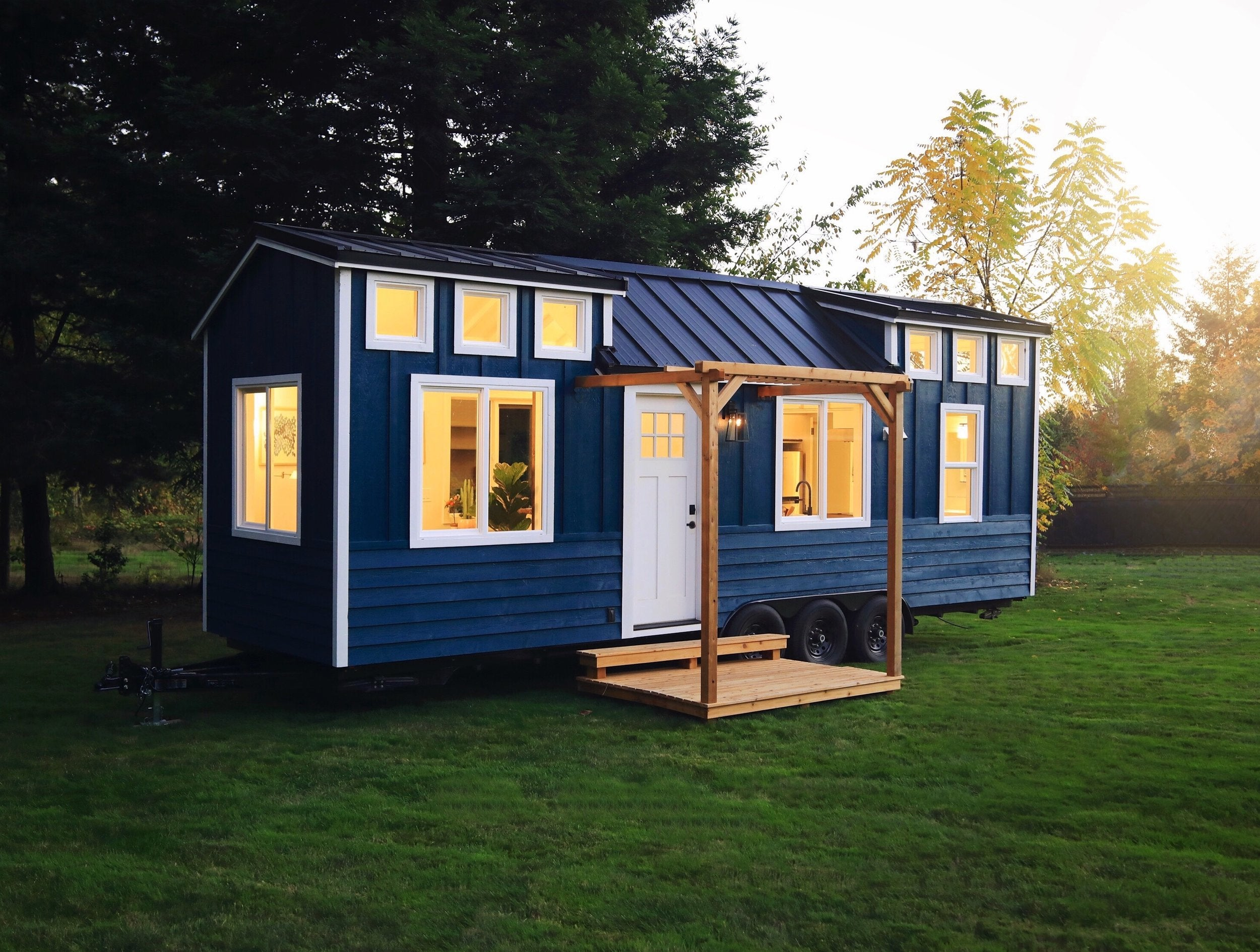 This Impressive Tiny House Interior Design Will Teach You How to Make Small Spaces Feel Larger