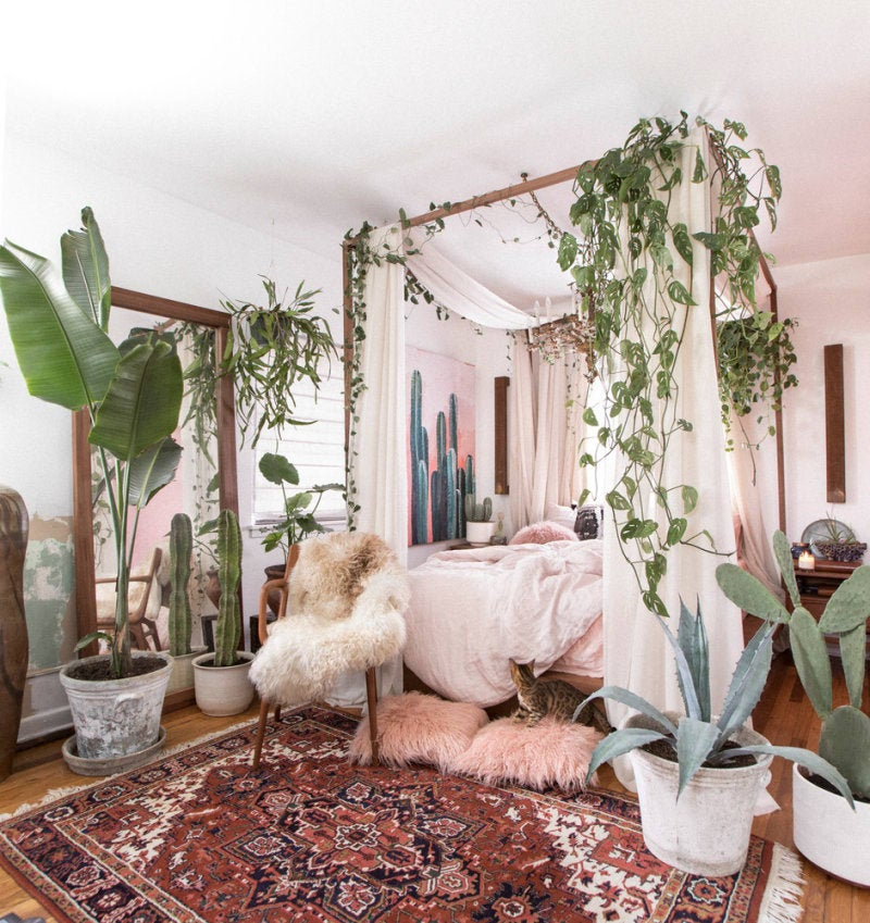 Apartments For Rent Magazine: Small-Space Decor Tips From This Gorgeous Boho Apartment