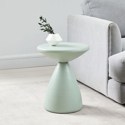 Cosmo Side Table – Dusty Mint