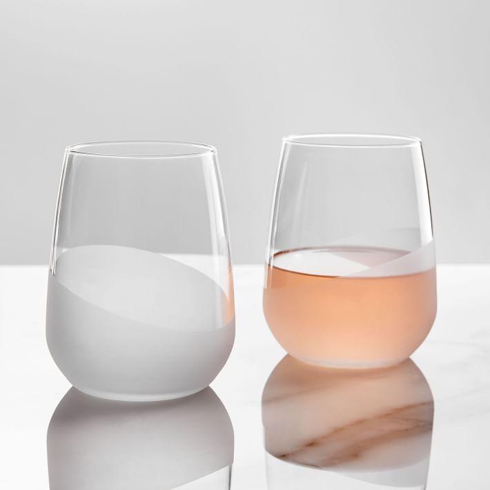 Half-Dipped Glassware