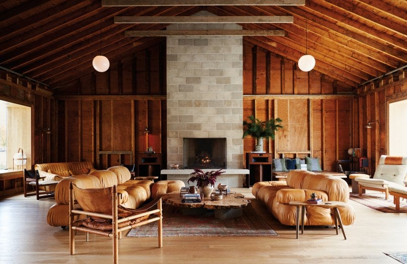 And Suddenly, Tobia Scarpa Sofas Were Everywhere