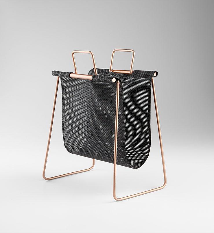 Handle It Magazine Rack design by Cyan Design