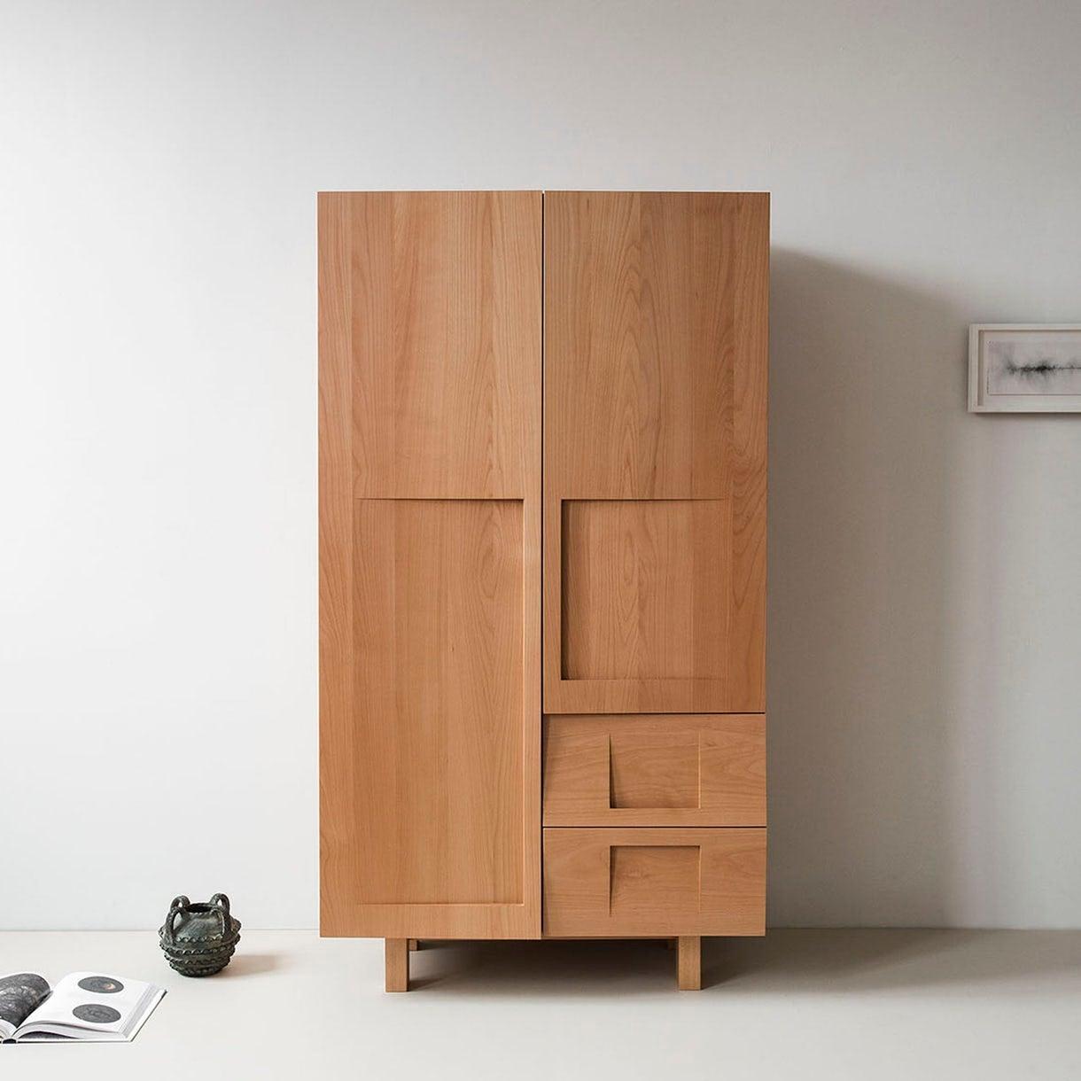 Wood Wardrobe