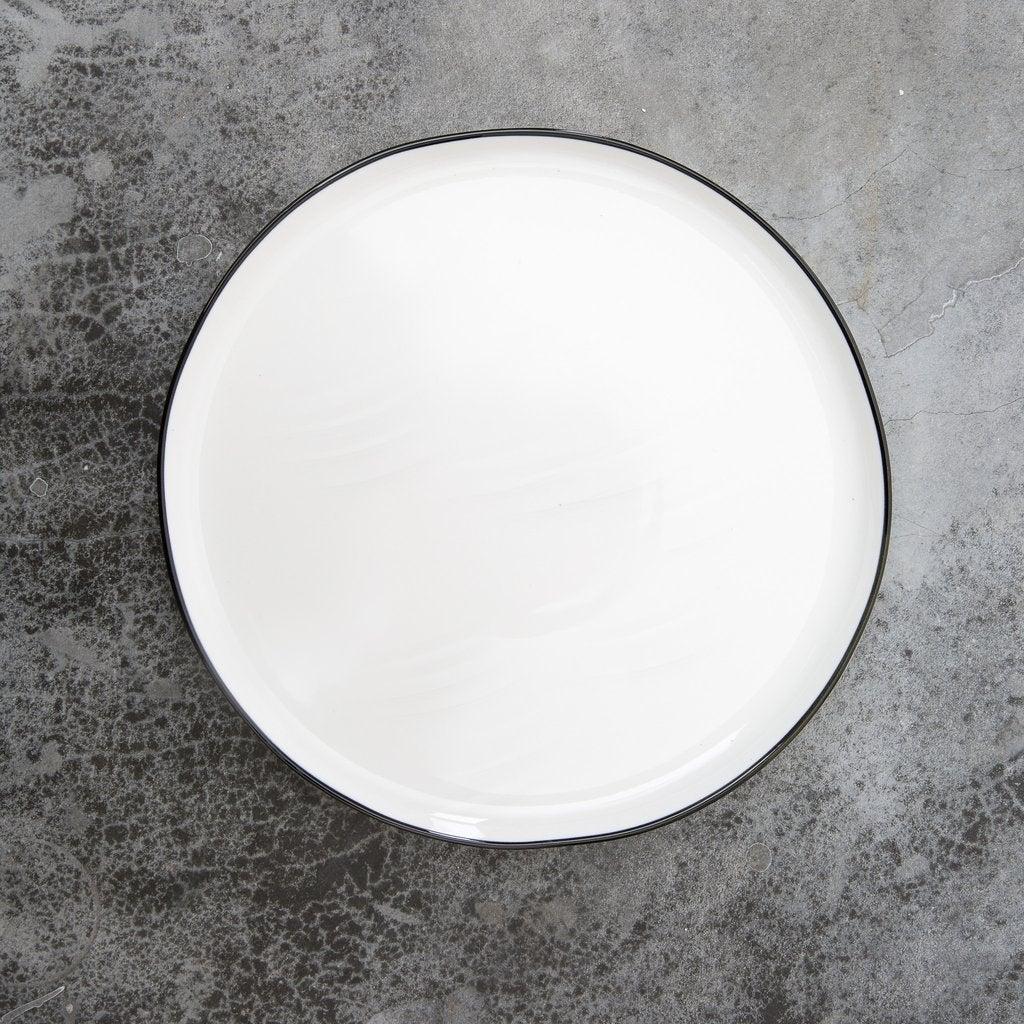Black Rimmed Plates