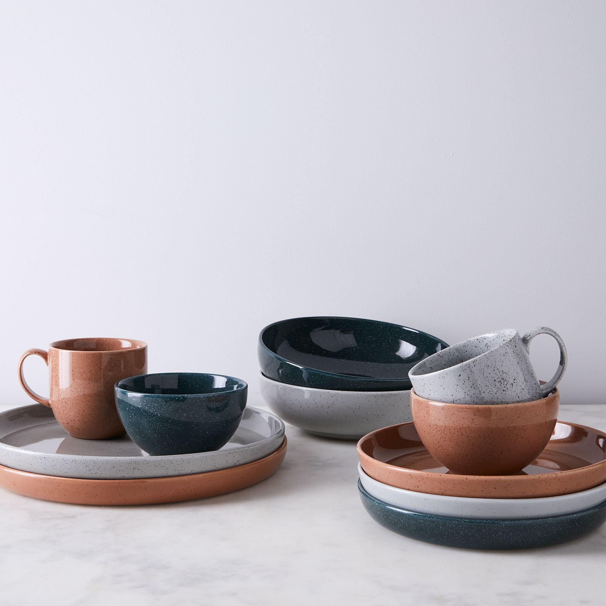 Porcelain Speckled Dinnerware