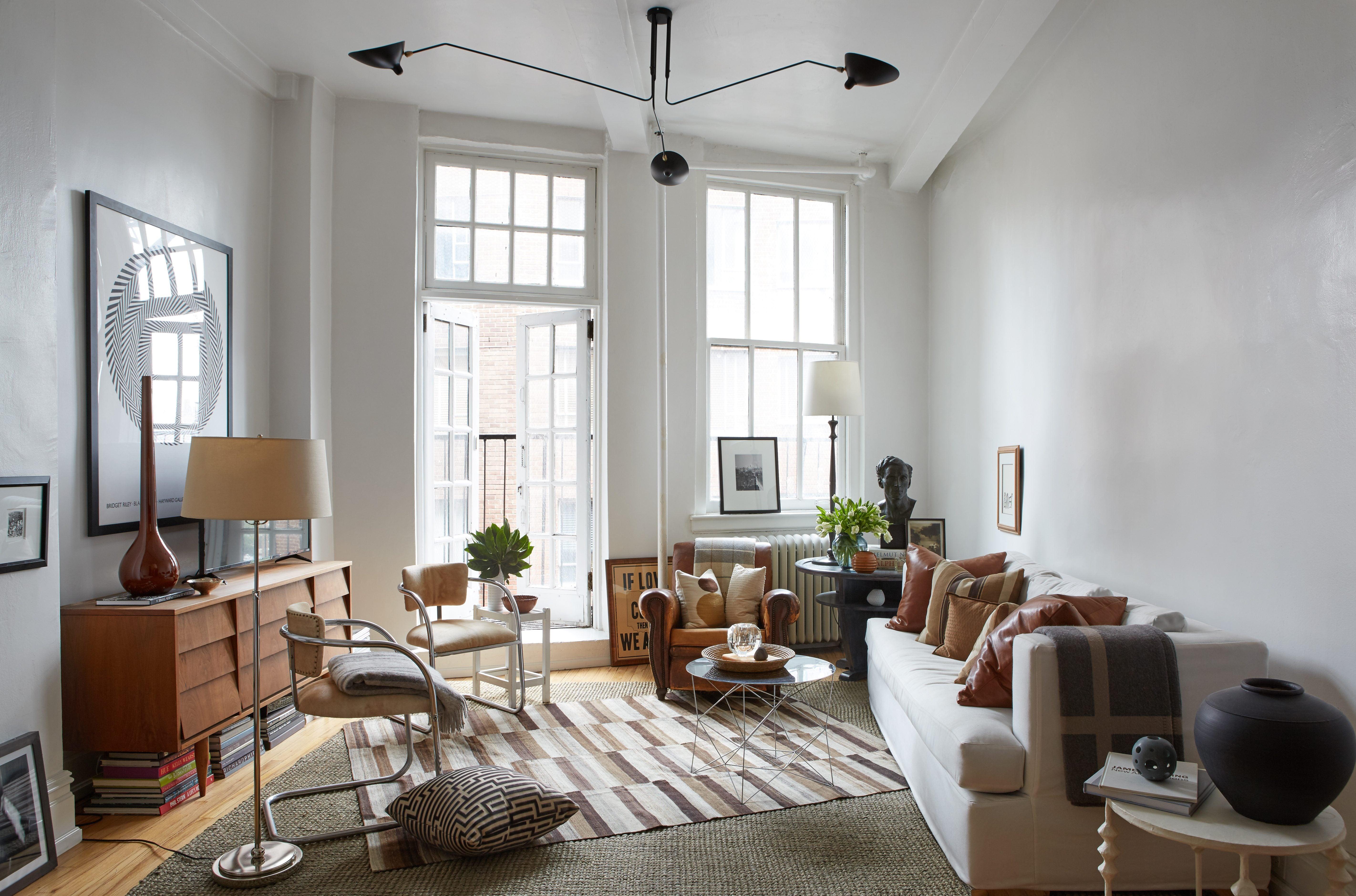 Step inside interior designer dan mazzarini s apartment in - New york city interior designers ...