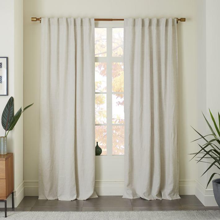 Belgian Linen Curtain