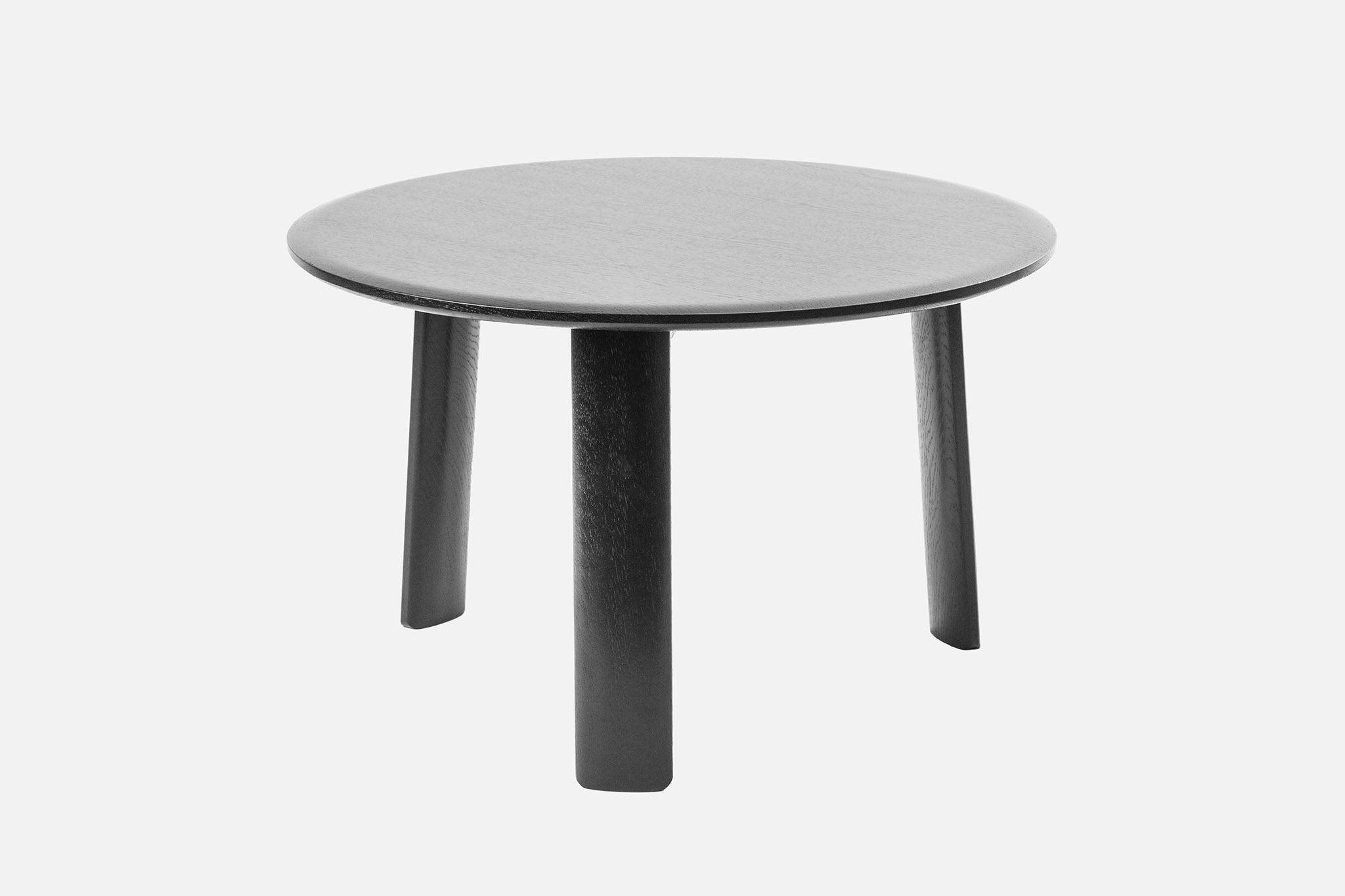 hem black wood coffee table