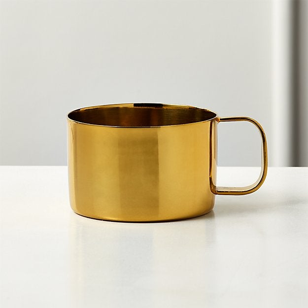 mystic gold espresso cup