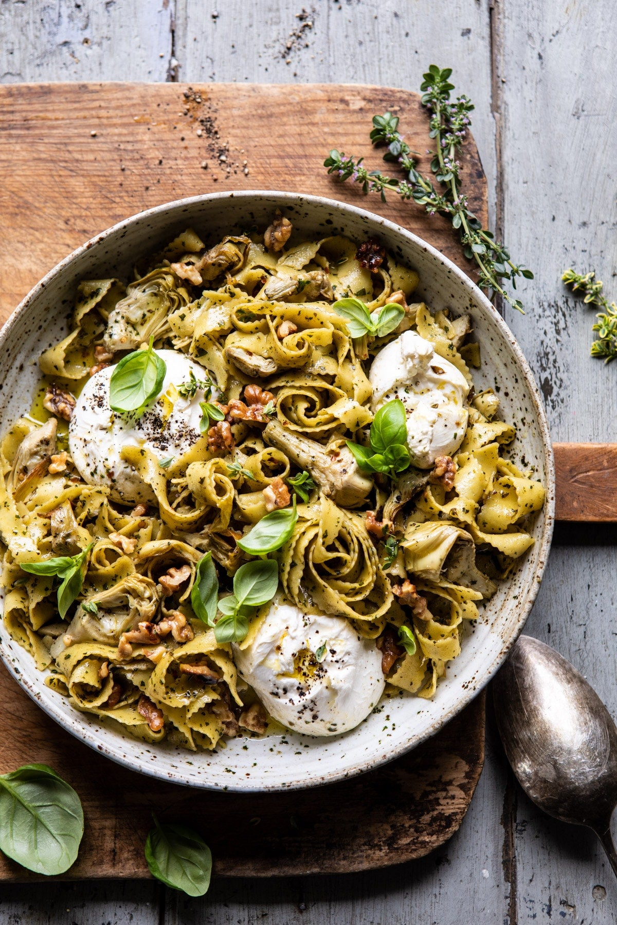 Roasted-Lemon-Artichoke-and-Browned-Butter-Pasta-1