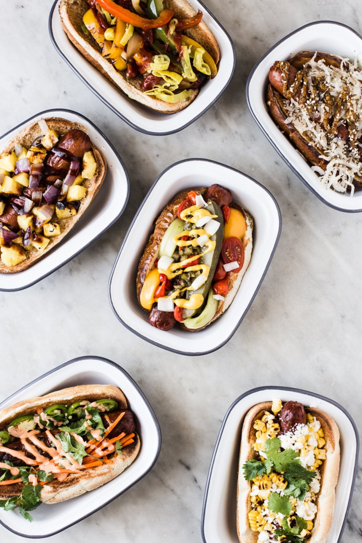 Unique Hot Dog Topping Recipes and Ideas