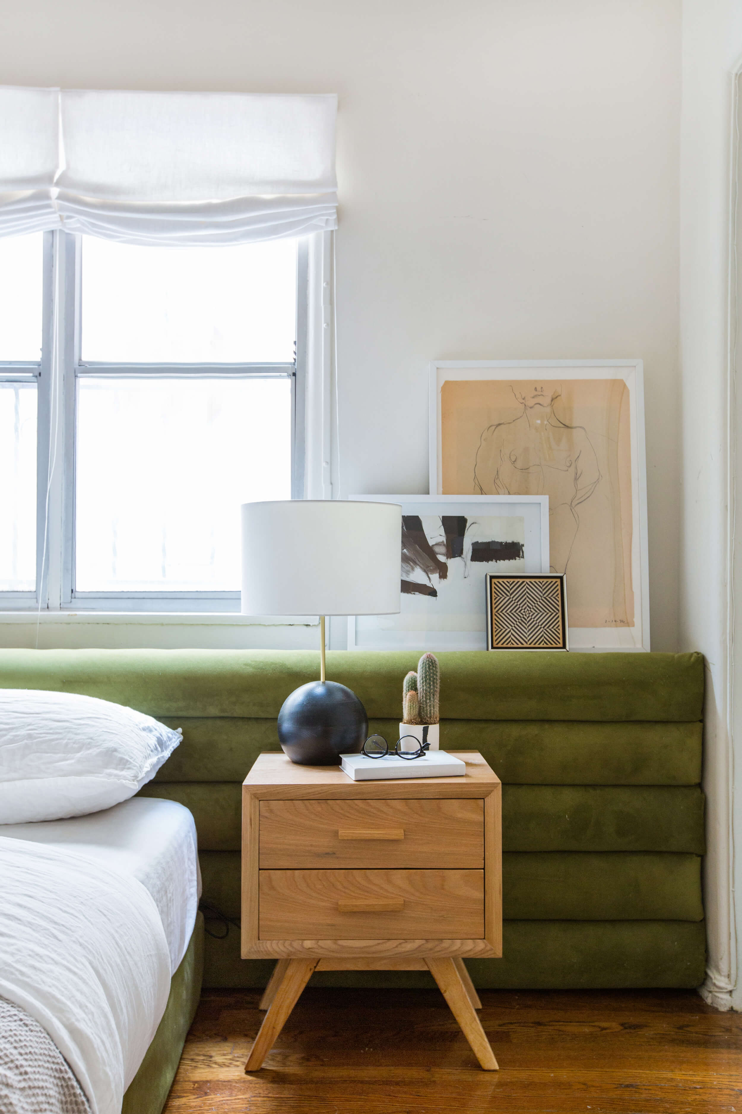 How To Diy A Channel Tufted Headboard According To Two Pros