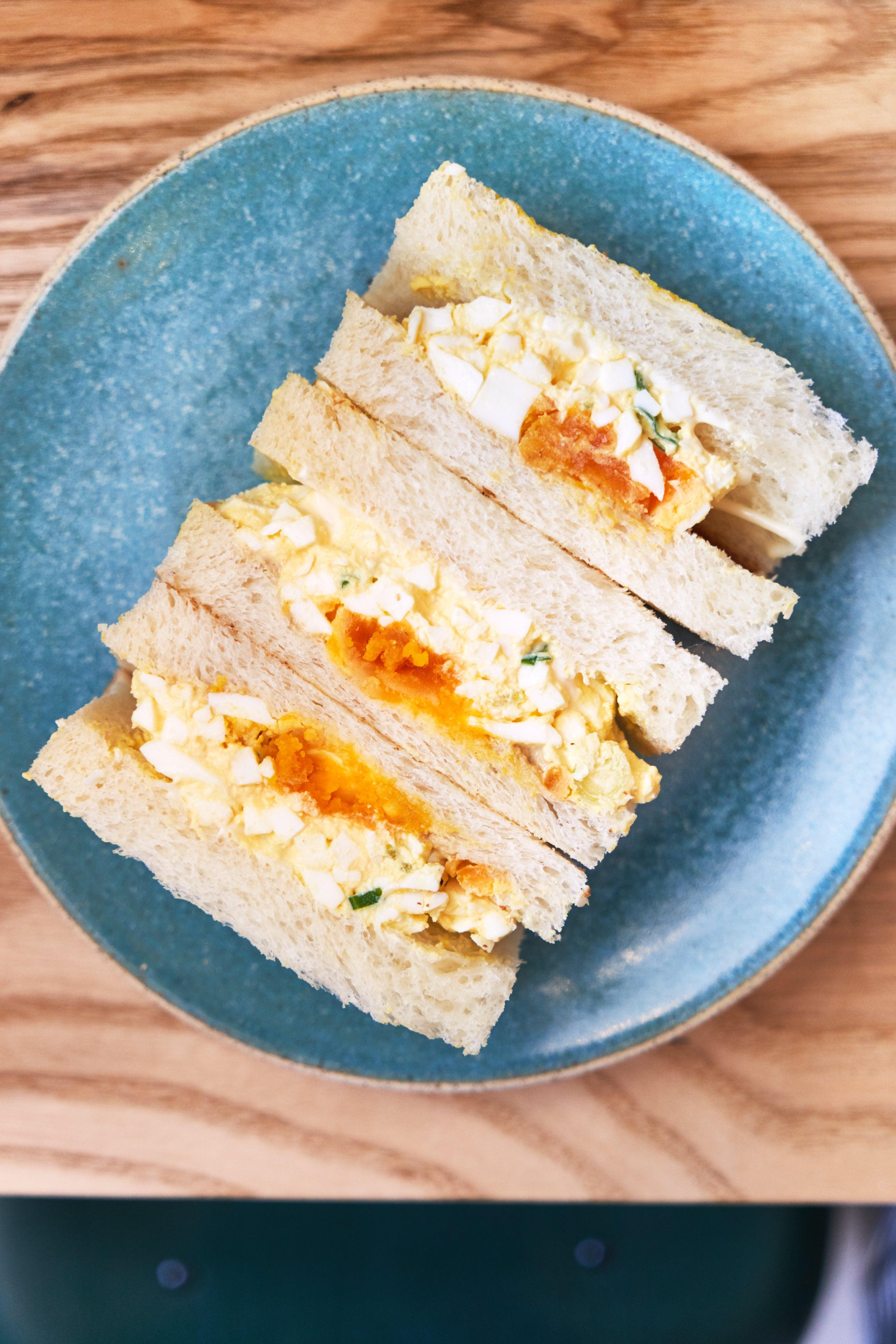 Konbi egg sando