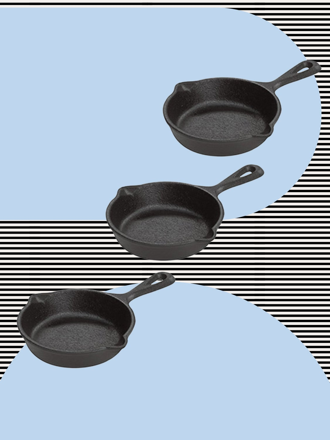 cast iron skillet mini