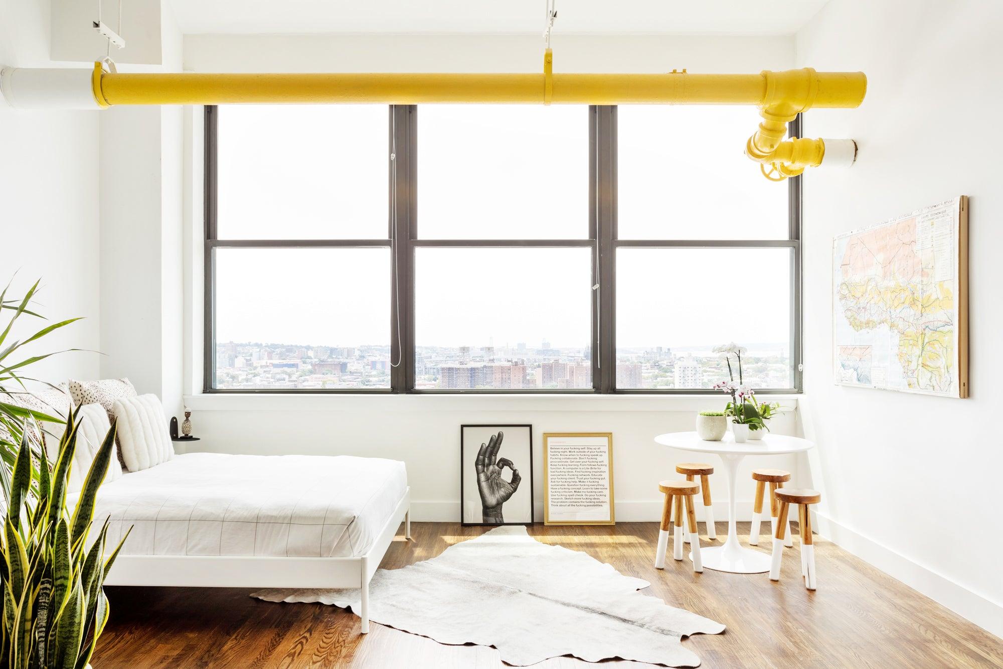 This Brooklyn Loft Packs a Mini Art Gallery Into 780 Square Feet