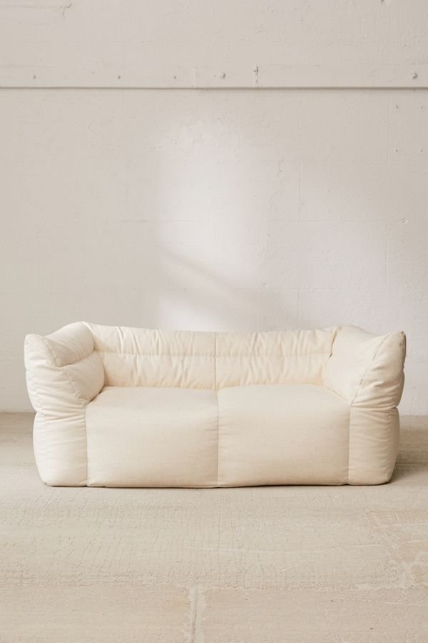 Fine The Best Overstuffed Sofas Look Like Giant Eclairs Bralicious Painted Fabric Chair Ideas Braliciousco