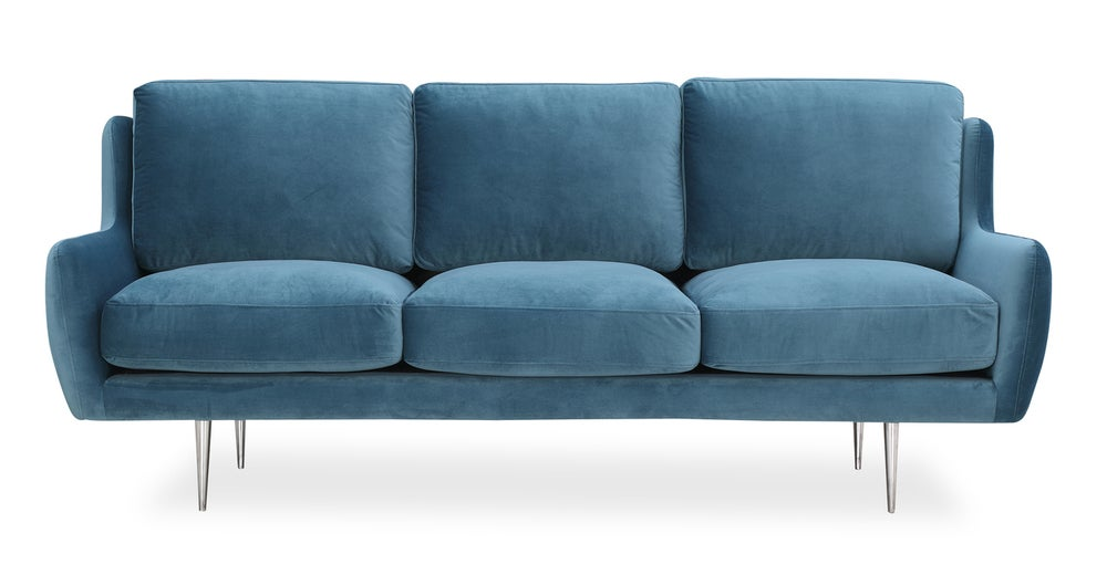 Cool The Best Overstuffed Sofas Look Like Giant Eclairs Bralicious Painted Fabric Chair Ideas Braliciousco