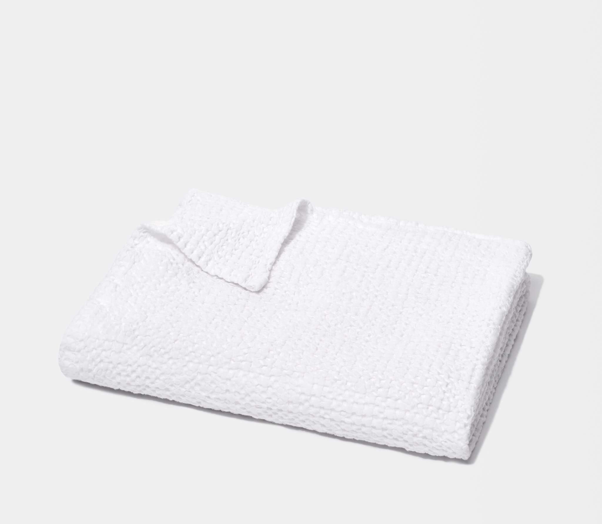 honeycomb bath towel