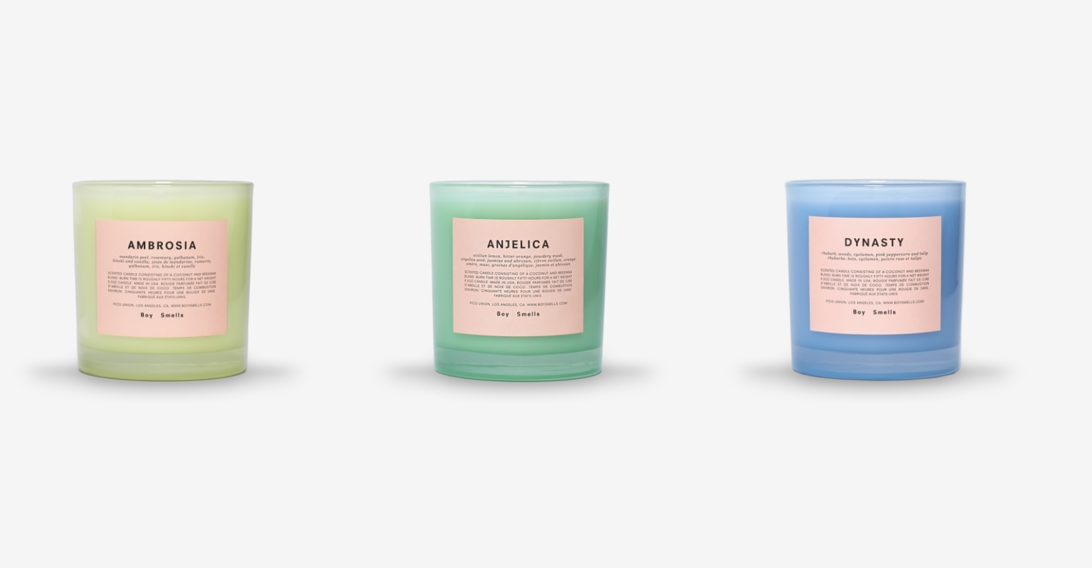 boy smells collection