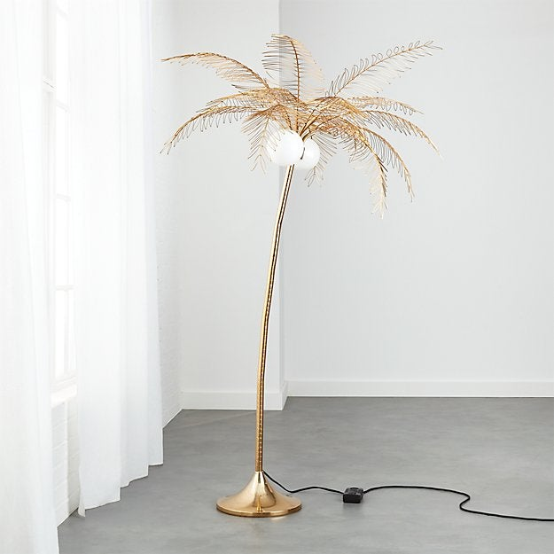 OCEAN PALM FLOOR LAMP