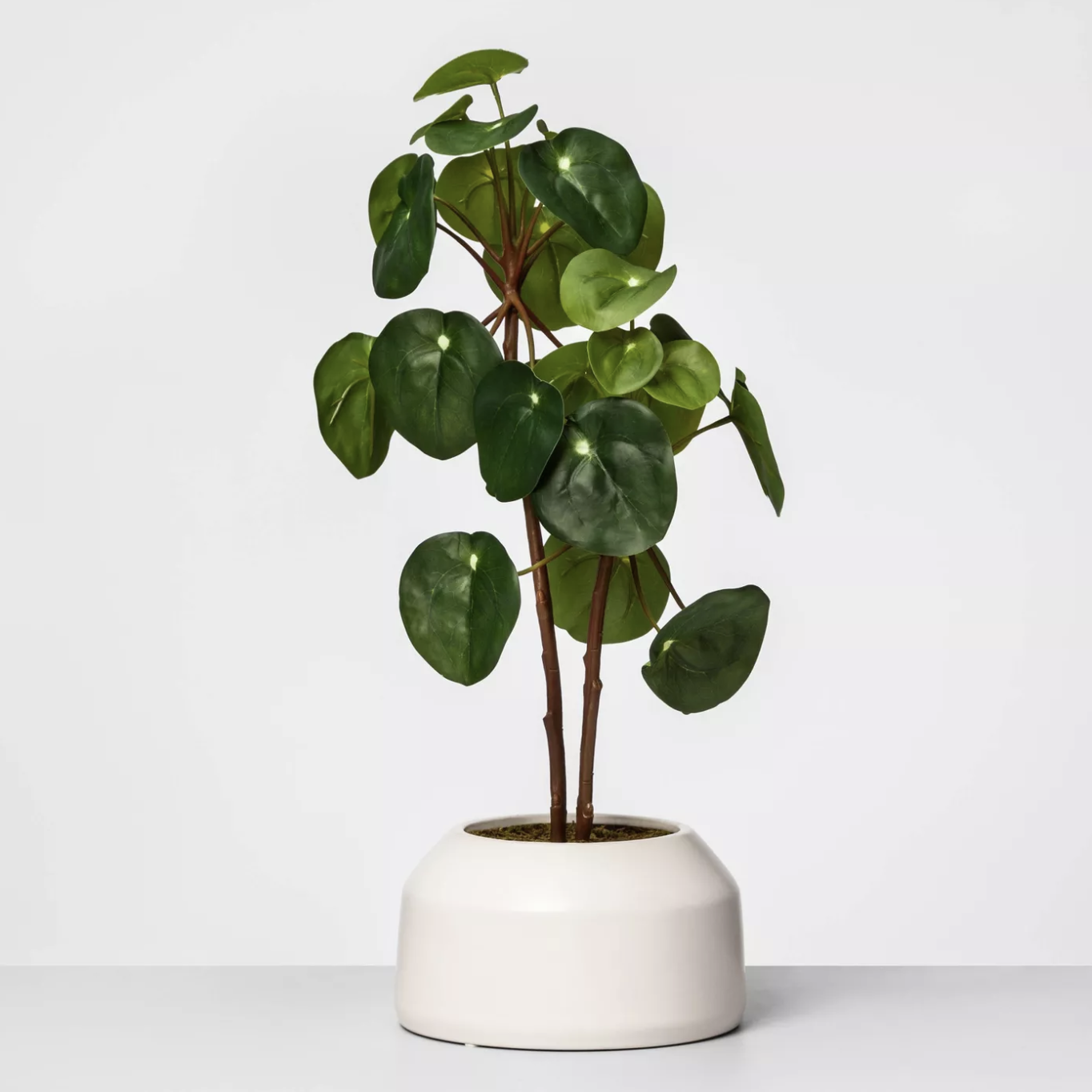 Artificial Potted Pilea Plant Green