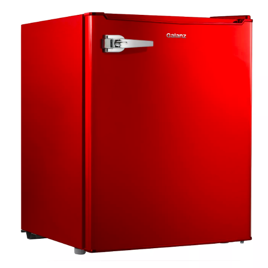 NEW_Galanz 2.7 cu ft Retro Refrigerator