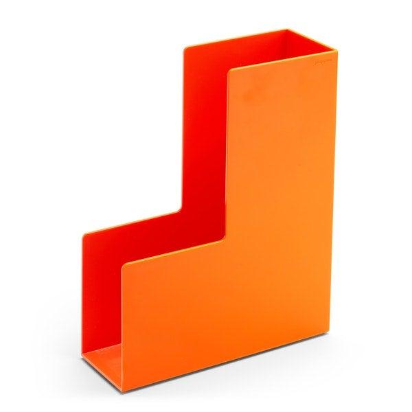 Orange Magazine File Box
