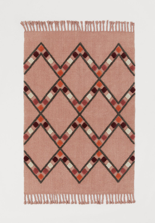Patterned Wool-blend Rug
