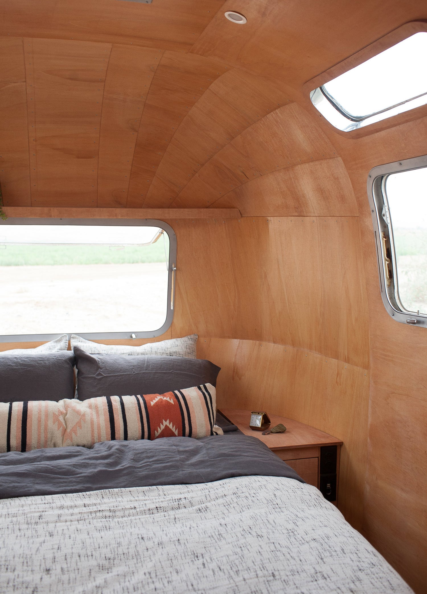 This Airstream Motorhome Packs Major Mid-Century Style into 200 Square Feet