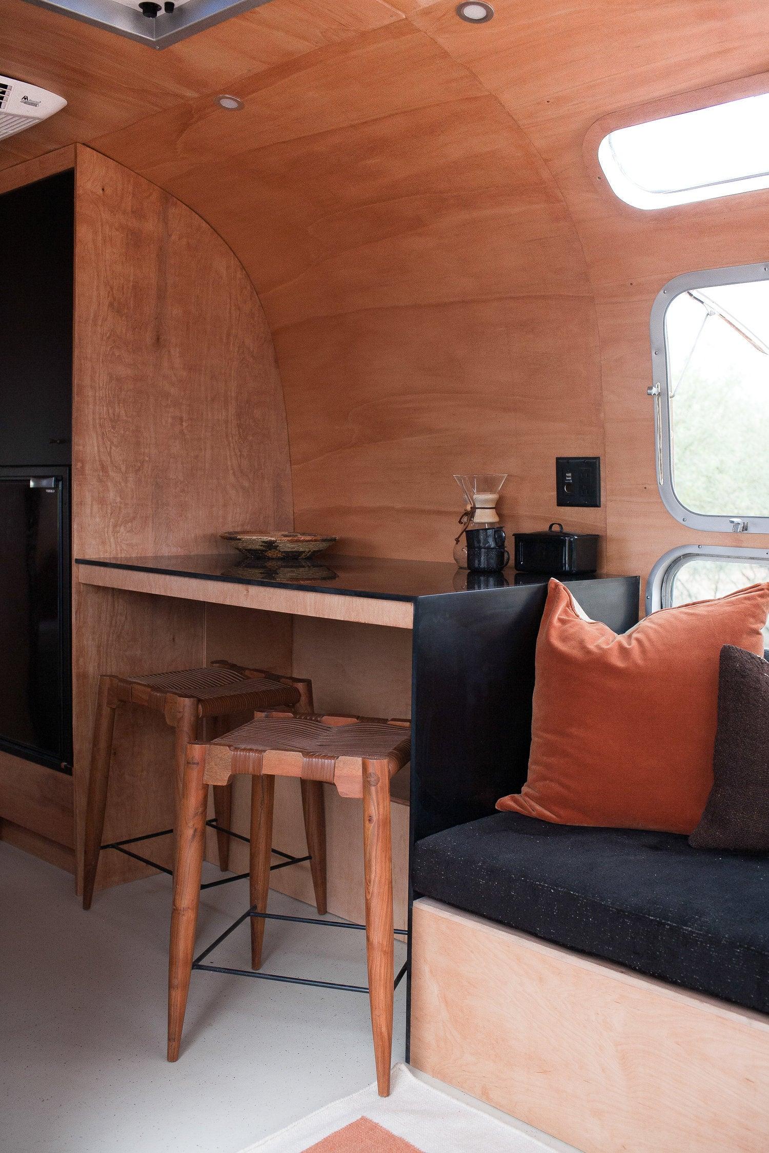 This Airstream Motorhome Packs Major Mid-Century Style into 200