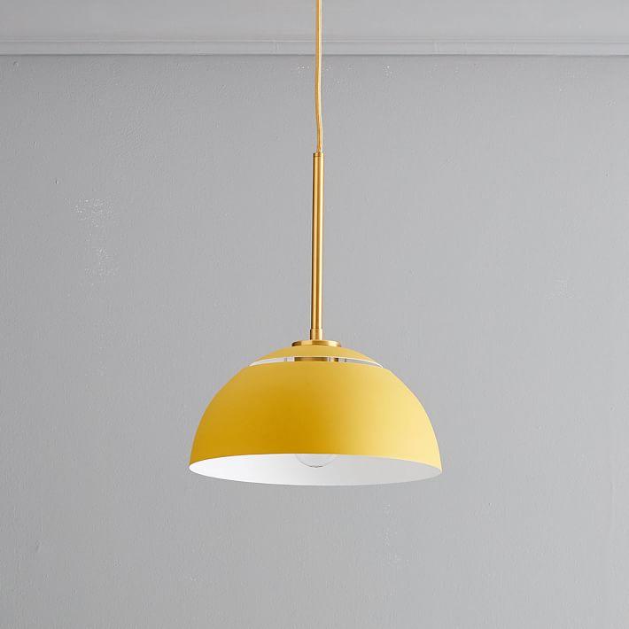 sculptural-metal-pendant-medium-metal-shade-brass-canopy-1-o