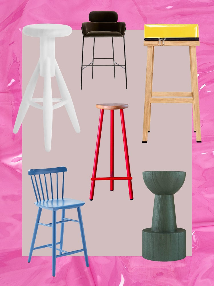 Fabulous The 32 Best Bar Stools In Every Color Under The Sun Machost Co Dining Chair Design Ideas Machostcouk