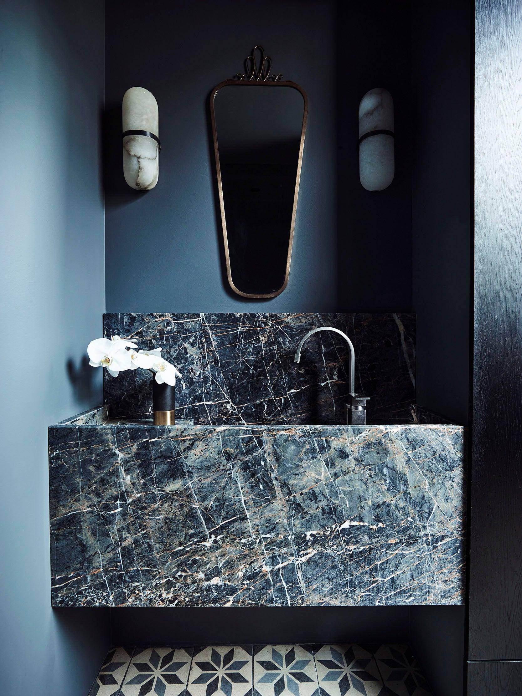 Marble Countertops Look Ravishing In Shades Of Blue
