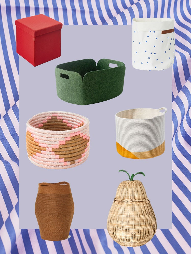 32 Storage Baskets That Will Help You Cut Clutter