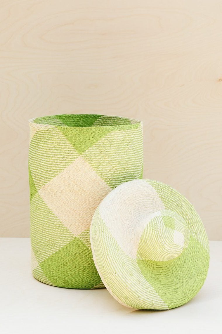 It's Time to Upgrade That Ugly Plastic Laundry Hamper