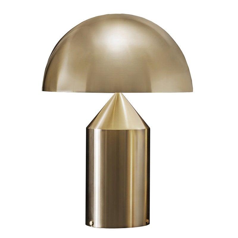 Atollo 239 table lamp, gold